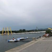 Photo taken at Reichsbrücke by Paria👸🏻 on 6/27/2017