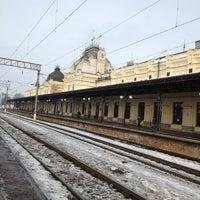 Photo taken at Залізнична станція «Жмеринка» by Вее on 1/21/2013