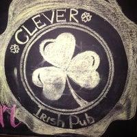 Снимок сделан в Clever Irish Pub пользователем Pavel A. 10/18/2012