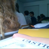 Photo taken at Liceo Scientifico Galileo Galilei by Marco G. on 10/18/2012