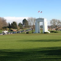 Photo taken at Canada Border Services Agency (Peace Arch) by Ibrahim A. on 3/29/2013