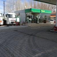Photo taken at BP by Hüseyin S. on 2/13/2013