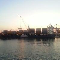 Photo taken at İzmir Limanı by Cihan B. on 7/8/2013