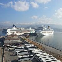 Photo taken at İzmir Limanı by Cihan B. on 5/15/2013