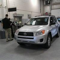 Photo taken at Crown Motors Toyota Volkswagen by Bill G. on 12/6/2012