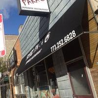 Photo taken at Sushi Para M by Andrew J. on 10/12/2012