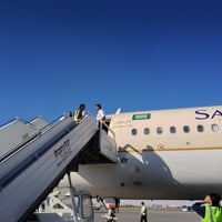 Photo taken at Mashhad International Airport (MHD) by Bato O. on 10/20/2012