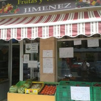 Photo taken at frutas Y Verduras Jimenez by Juan Carlos A. on 5/10/2013
