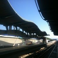 Photo taken at Metro Quilín by Cristian S. on 3/23/2013
