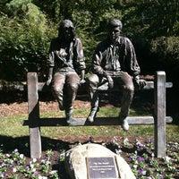 Photo taken at Greensboro Bicentennial Gardens by Cody T. on 10/16/2012