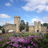 Photo taken at Warwick Castle by Ekaterina Z. on 6/8/2013