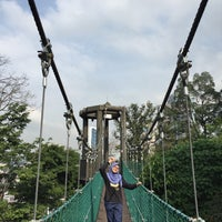 Photo taken at Bukit Nanas Forest Reserve by Mimik F. on 2/22/2018