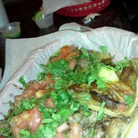 Photo taken at Los Tacos by Bryan L. on 10/17/2012
