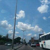 Photo taken at Avenida Constantino Nery by Júlia T. on 10/17/2012