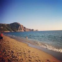 Foto scattata a Kleopatra Plajı da Tolga C. il 10/15/2013