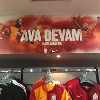 Photo taken at Galatasaray Store by Kemal M. on 6/15/2013
