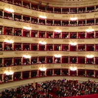 Photo taken at Teatro alla Scala by Mombu K. on 11/4/2012