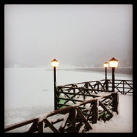 Photo taken at Lake Abant by baris a. on 1/12/2013