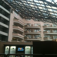 Photo taken at Sheraton Detroit Metro Airport by Cathy C. on 10/23/2012