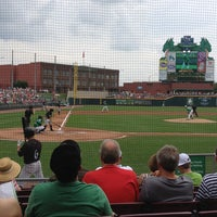 Photo taken at Fifth Third Field by Allyson M. on 7/21/2013