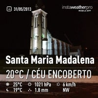 Photo taken at Santa Maria Madalena by Bruno V. on 5/31/2013