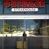 Photo taken at Outback Steakhouse by Yoshil D. on 3/12/2013