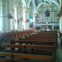 Photo taken at Templo Parroquial Santa Ana by MARIA F. on 1/3/2013