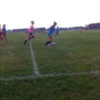 Photo taken at Fredonia Soccer Field by Catherine D. on 7/23/2013