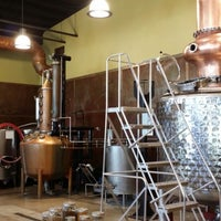 Photo taken at Coppercraft Distillery by James T. on 6/12/2014