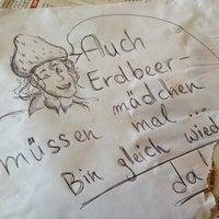Photo taken at Erdbeere by Frau S. on 5/30/2013