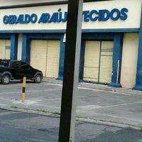 Photo taken at Geraldo Araujo Tecidos by Thiago A. on 11/5/2012