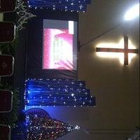Photo taken at Gereja Toraja Bintaro by Jessica M. on 12/8/2012