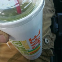 Photo taken at Tropical Smoothie by David M. on 10/25/2015