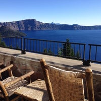 Photo taken at Crater Lake Lodge by Weston S. on 7/24/2014