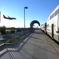 Photo taken at Metrolink Burbank-Bob Hope Airport Station by Metrolink on 12/31/2012