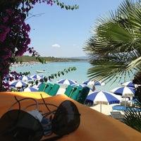 Photo taken at Hotel dei Pini Alghero by Mauro R. on 7/20/2013