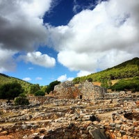 Photo taken at Nuraghe Palmavera by Mauro R. on 8/20/2015