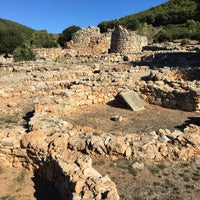 Photo taken at Nuraghe Palmavera by Mauro R. on 10/30/2016
