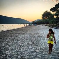Photo taken at Spiaggia di Mugoni by Mauro R. on 7/18/2015
