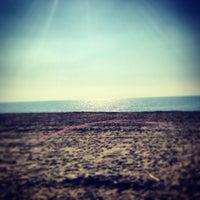 Photo taken at Spiaggia del Gabbiano by Mauro R. on 2/17/2013