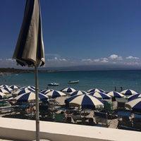 Photo taken at Hotel dei Pini Alghero by Mauro R. on 8/8/2014