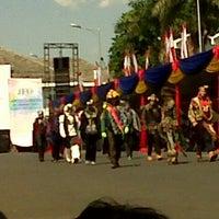 Photo taken at Jember Fashion Carnaval by Wawan H. on 8/24/2013