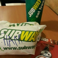 Photo taken at SUBWAY by Carine C. on 12/29/2015