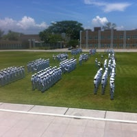 Photo taken at Escuela Naval Militar by Jose C. on 8/2/2013