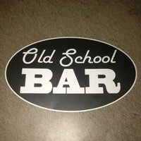 Снимок сделан в Old School Bar пользователем Bari 2/23/2013