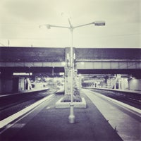 Photo taken at Croydon Station by 冰冰 on 1/2/2013