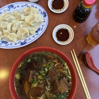 Photo taken at Lao Shan Dong Homemade Noodle House by Maurice on 5/5/2016