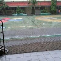 Photo taken at SMAN 58 Jakarta by Naomi C. on 11/13/2013
