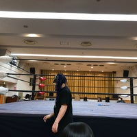 Photo taken at 高島平区民館 by タロケン on 1/7/2017
