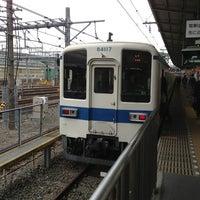 Photo taken at 東武大宮駅 1-2番線ホーム by タロケン on 3/24/2013
